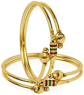 Youbella Precious Gold Plated Bangles For Women