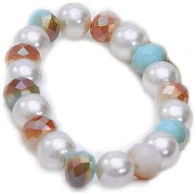 YouBella Trendy Crsytal Jewellery Bracelet for Girls and Women