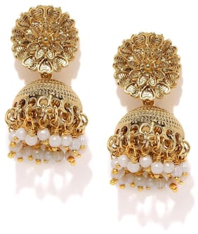 Zaveri Pearls Adorable Indian Jhumki Earrings - ZPFK5389