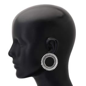 Zcarina Alloy Chandelier earring & Stud - Set of 2