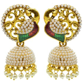 Zcarina Alloy Jhumki - Set of 2