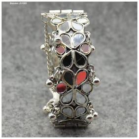 Multi Colored Alloy Bracelet
