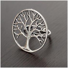Silver German Silver Ring