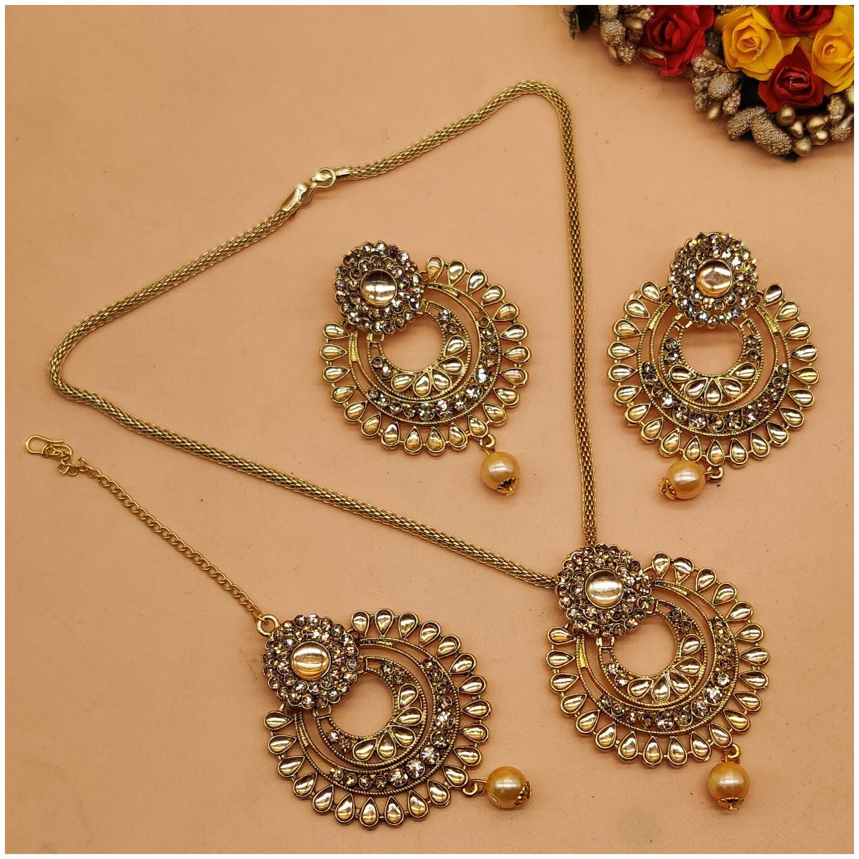 SIZE : 6.5 Jewelry Set Rose Gold Plate Crystal Flower CC-JJ