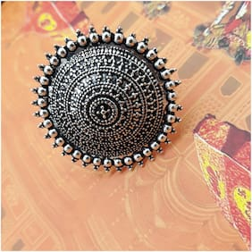 Zcarina Silver Plated Ring Jewelry For Women