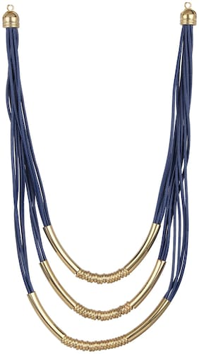 Zooniv Blue Stylish Necklace for Women
