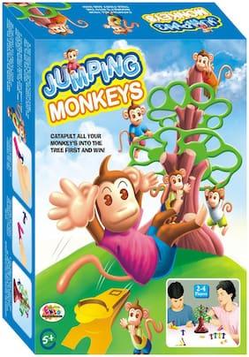 Ekta Jumping Monkeys Big Board Family Game