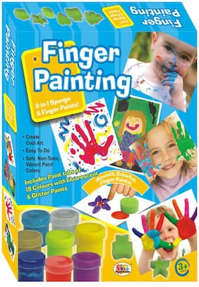 Ekta 18 Colors Finger Painting Game Kit