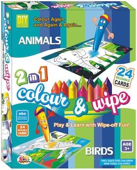 Ekta Colour & Wipe Animal & Birds