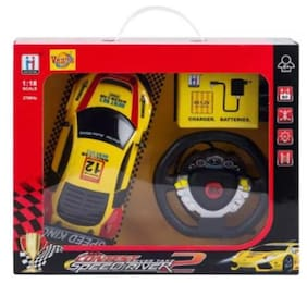 1:18 Audi R8 2.7 Mhz Remote Control Car Toy Wt Steering Adjustable Front Wheel Alignment Rechargeable Batteries For Boys