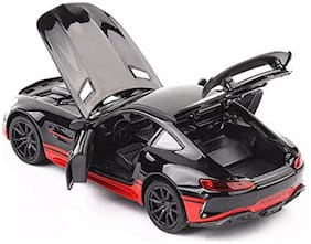 1:32 Alloy Benzamide GT GTR Pull Back diecast car Model with Sound Light