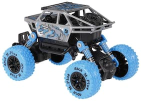 1:36 4WD Rally Cars Crawler Off Road Race Monster Truck, Metal Car, Big Rubber Tires, Metal Suspension