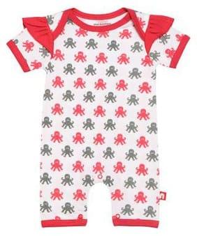 Nino Bambino Baby girl Cotton Printed Romper - Multi