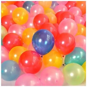 100 Pcs Ballon Multicolor Pack - 1 Pack