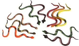 10pcs Multi Snake Gag/Prank Toy