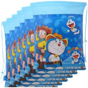 12 pcs Doraemon Dori Bag Haversack Bag Gift Bags For Birthday Gifts For Kids Doraemon Theme Party