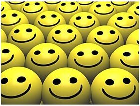 Delhi Haat 12Pcs Set Of Smiley Face Squeeze Ball For Your Children