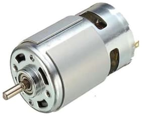 12V High Torque DC 12V Multipurpose Brushed Motor, Bigger Motor, 7000 rpm