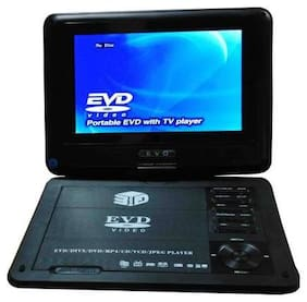 13-HI-13 3D Portable EVD/DVD Player With TV Tuner/Card Reader/Usb/Game With 7.8 inch Screen(Black) 7.8 inch DVD Player (Black)