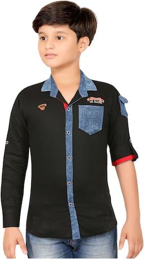 1ST RANK PLUS Boy Cotton Printed Shirt Multi