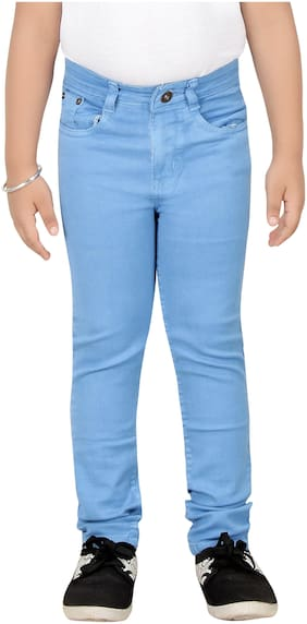 1ST RANK PLUS Boy's Slim fit Jeans - Blue