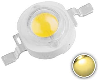 1W High Power LED Diodes 3.4V for Spot Flood Light (Pack of 50)