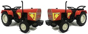 2 Combo Eicher Tractor Pull Back Toy