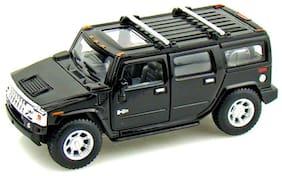 2008 Hummer H2 SUV Kinsmart 1:40 Scale 5 inch Diecast Metal Car