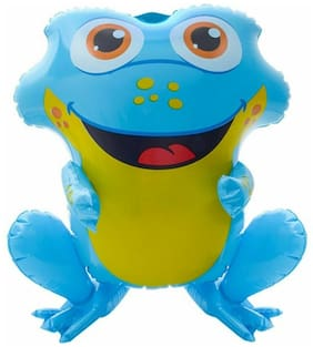 "24"" Blue Rain forest Frog Inflatable - Baby Inflate Blow Up Toy Party Decoration"