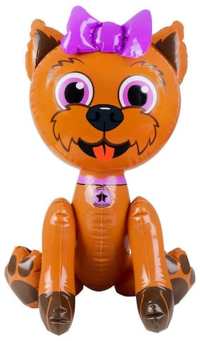 "24"" Brown Puppy Dog Inflatable - Baby pup Inflate Blow Up Toy Party Decoration"