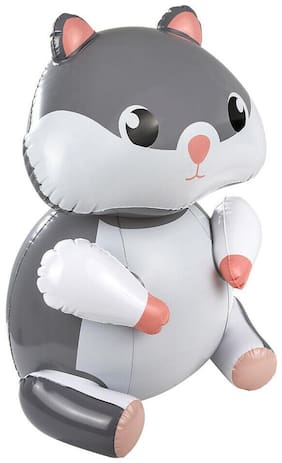 "24"" Gray Hamster Inflatable - Baby Gerbil Inflate Blow Up Toy Party Decoration"