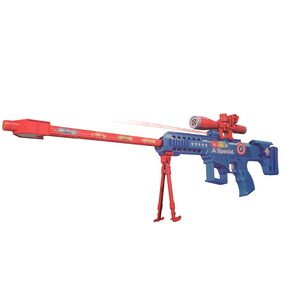 28 inches Captain America Musical Avengers Toy Machine Gun for Kids