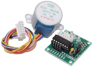 28Ybj-48 DC 5 Volt 4 Phase 5 Wire Stepper Motor With Uln2003 Driver Board .