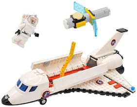 297 pcs Satellite Space Shuttle Rocket Educational Block Construction Toy