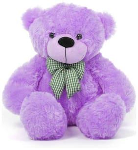 Gking Purple Teddy Bear - 91 cm