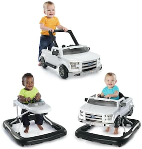 3 Ways To Play Baby Walker Ford F 150 Activity Toddler Car Toy Seat Fun Walking