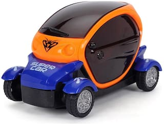 3D Light Car for Kids (Assorted colours)