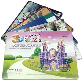 3D Puzzle Game Set of 5