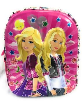 6d937d24d29 3D Sticker Princess Polyester Multicolor School Bag (5-8 Years)