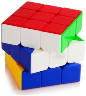 3x3x3 High Speed Stickerless Magic Rubic Cube By Signomark.