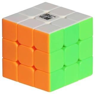 3x3x3 Stickerless High Speed Magic Rubik Cube By Signomark.