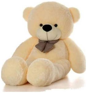 SAMAYRA TOYS Beige Teddy Bear - 121 cm