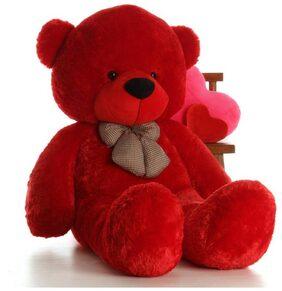 4 Feet Soft Teddy Bear Red
