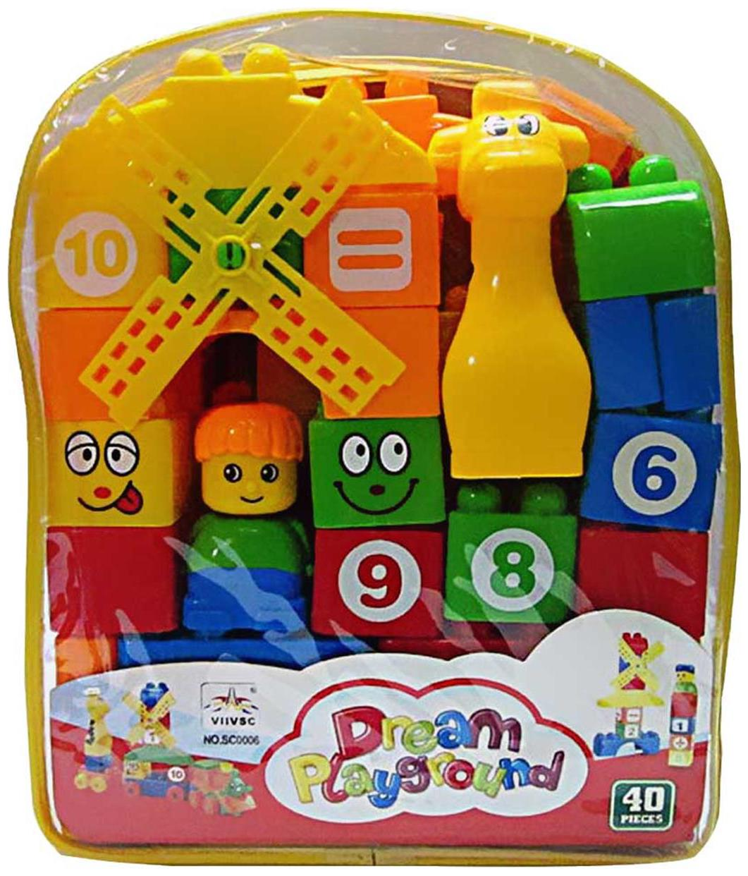 40pcs. Building Blocks for kids by New Pinch