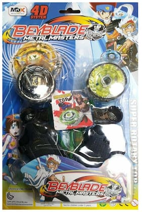 4D Systems Beyblade Metal Masters(Multicolor)