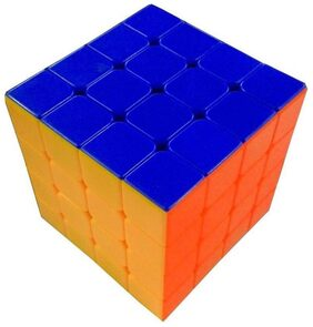 4x4x4x4 High Speed Stickerless Magic Rubic Cube By Signomark