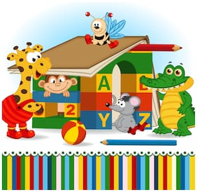 5 Ace School Play Wall Sticker Paper Poster