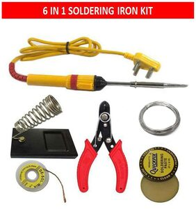 6 in 1 electric soldering Iron complete set