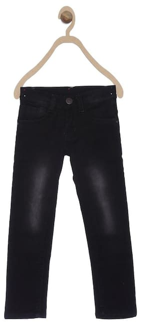 612 League Boys BLACK DENIM PANT