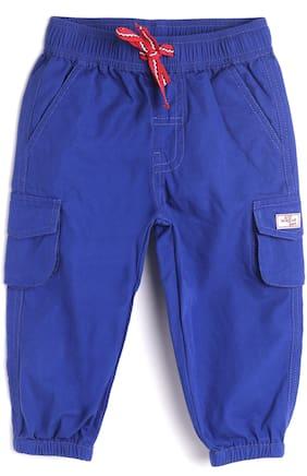 612 League Baby boy Cotton Solid 3/4th - Blue